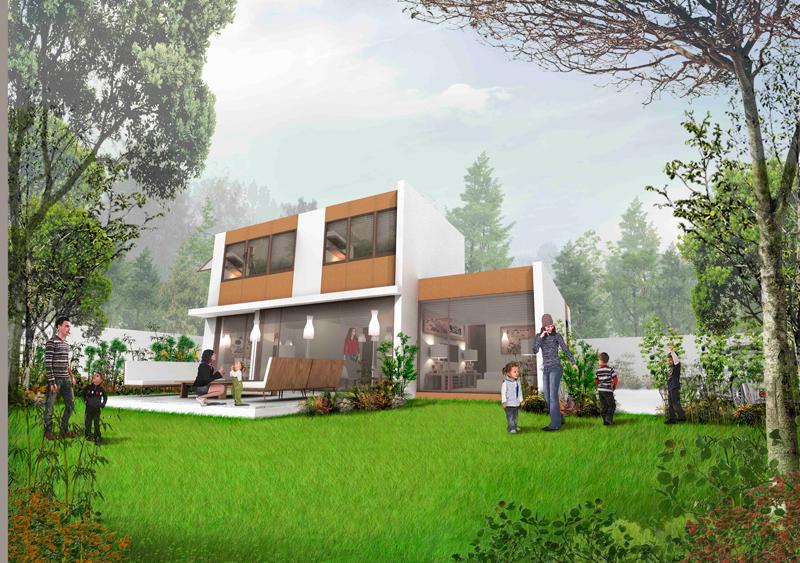 Jardín Oriente Casa E